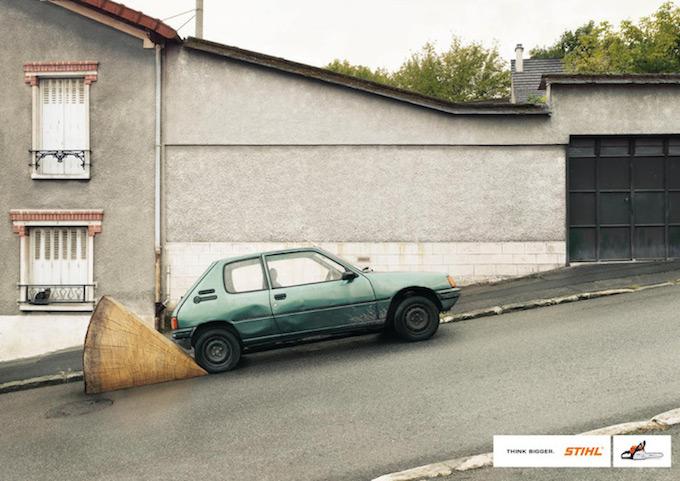 Auto wird gestoppt