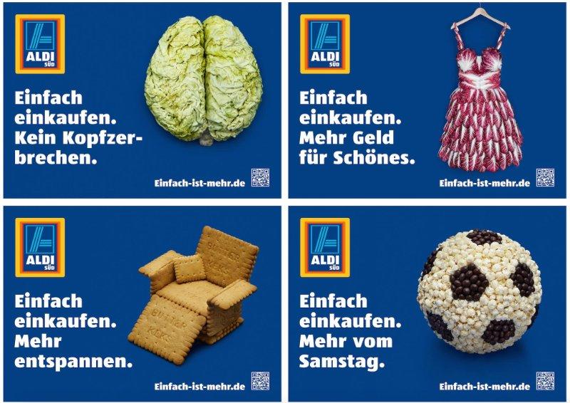 Einfache Aldi Werbung