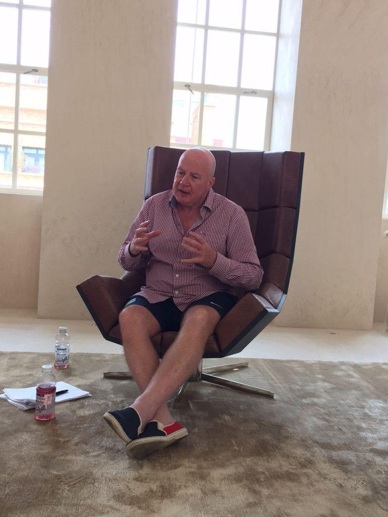 Saatchi & Saatchi's Begründer der Lovemarks-Philosophie und Executive Chairman Kevin Roberts
